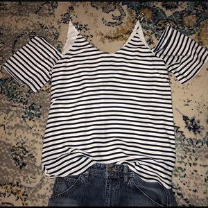 Asher by Fab'rik striped top.